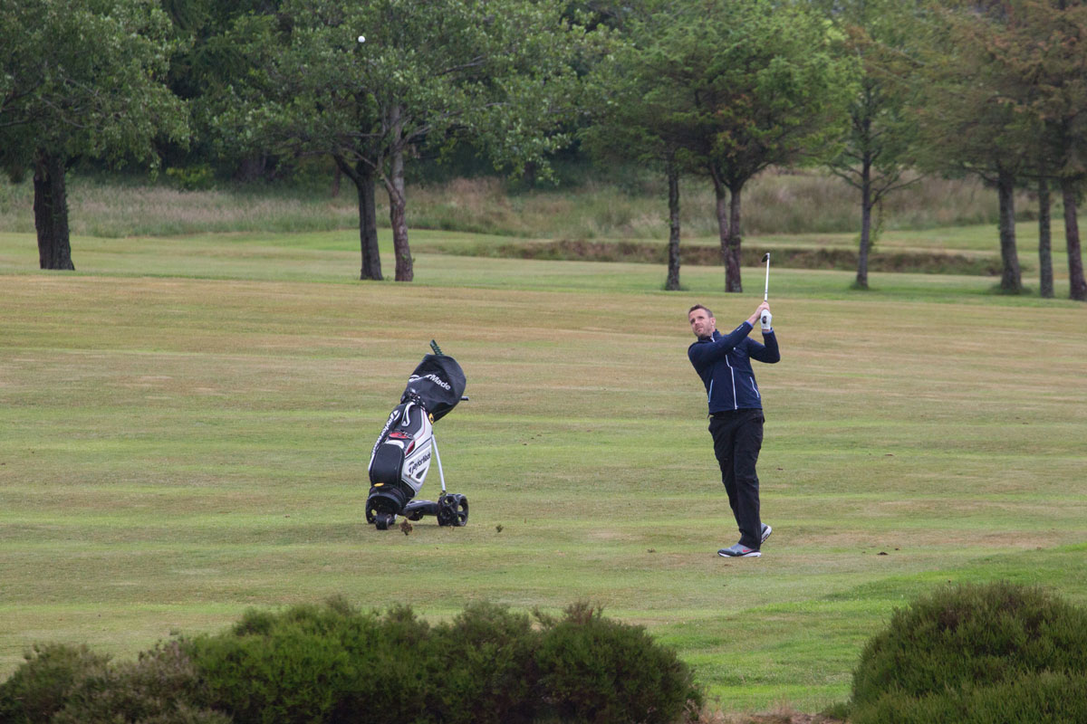 Matty Saxon in the Presidents Prize 2019 at Todmorden Golf Club